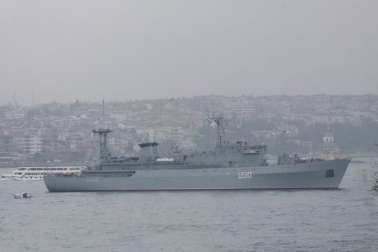 Blackseafor donanması İstanbul'da
