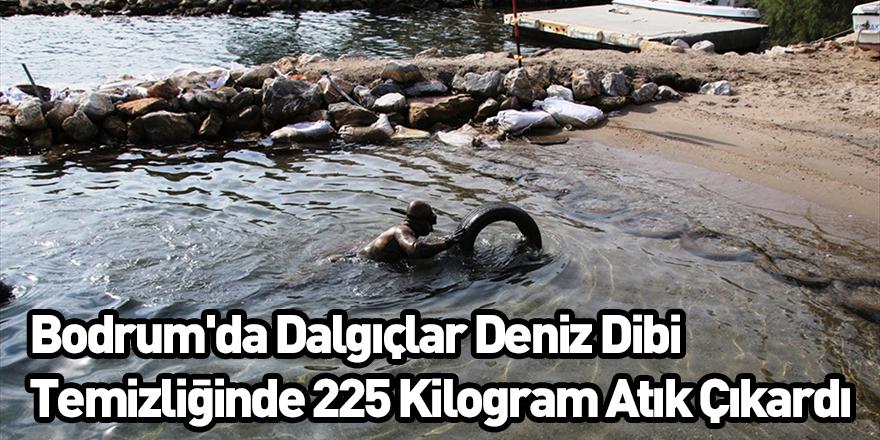 Bodrum'da Dalgıçlar Deniz Dibi Temizliğinde 225 Kilogram Atık Çıkardı