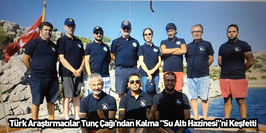 """Türk Araştırmacılar, Tunç Çağı'ndan Kalma """"Su Altı Hazinesi""""ni Keşfetti"""