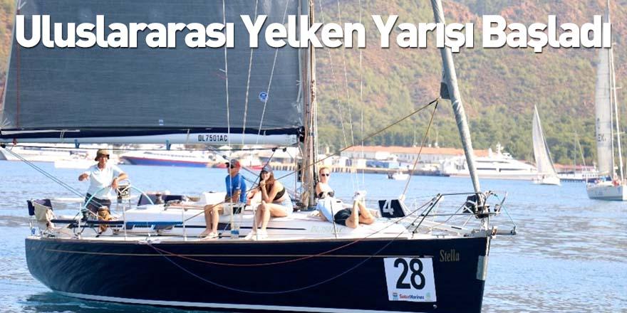 Marmaris Uluslararası Yelken Yarışı Başladı