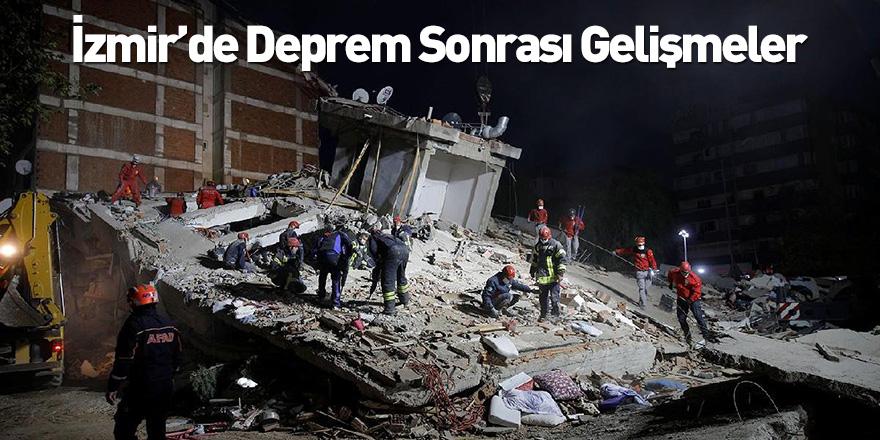 İzmir'de Deprem Sonrası Gelişmeler