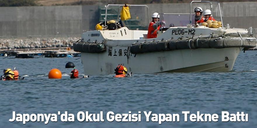 Japonya'da Okul Gezisi Yapan Tekne Battı