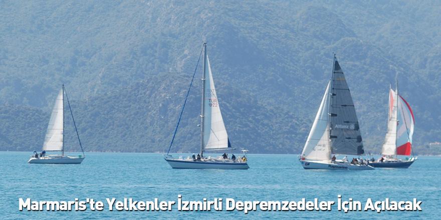 Marmaris'te Yelkenler İzmirli Depremzedeler İçin Açılacak