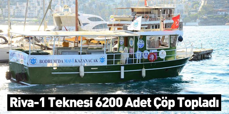 Riva-1 Teknesi 6200 Adet Çöp Topladı