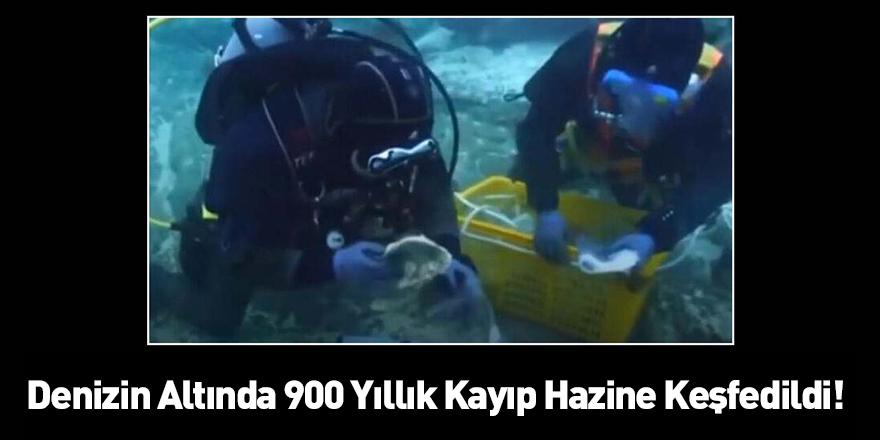Denizin Altında 900 Yıllık Kayıp Hazine Keşfedildi!