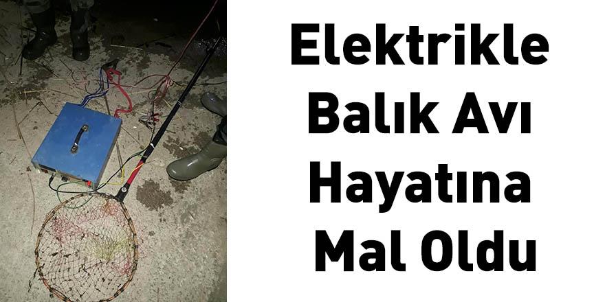 Elektrikle Balık Avı Hayatına Mal Oldu