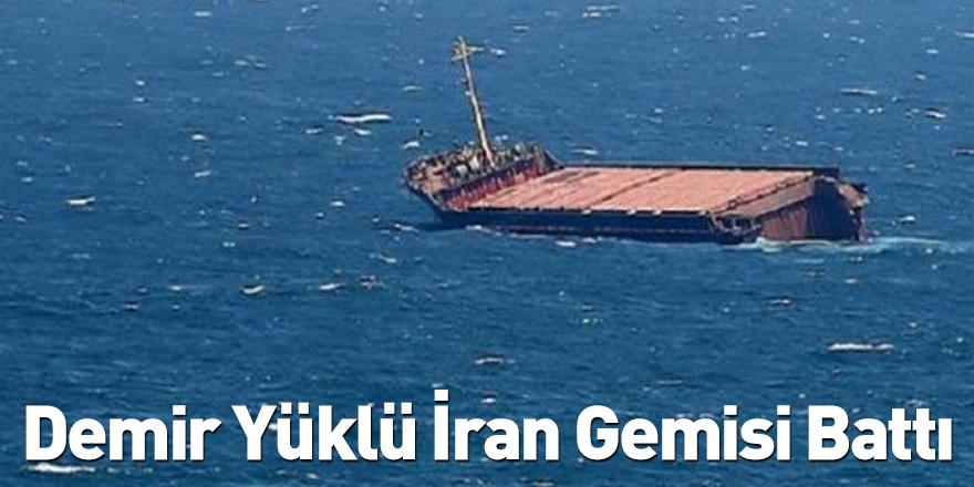 Khor Abdullah Kanalı'nda Demir Yüklü İran Gemisi Battı