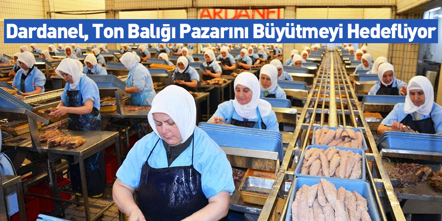 Dardanel, Ton Balığı Pazarını Büyütmeyi Hedefliyor