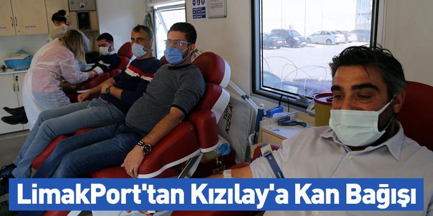 LimakPort'tan Kızılay'a Kan Bağışı!