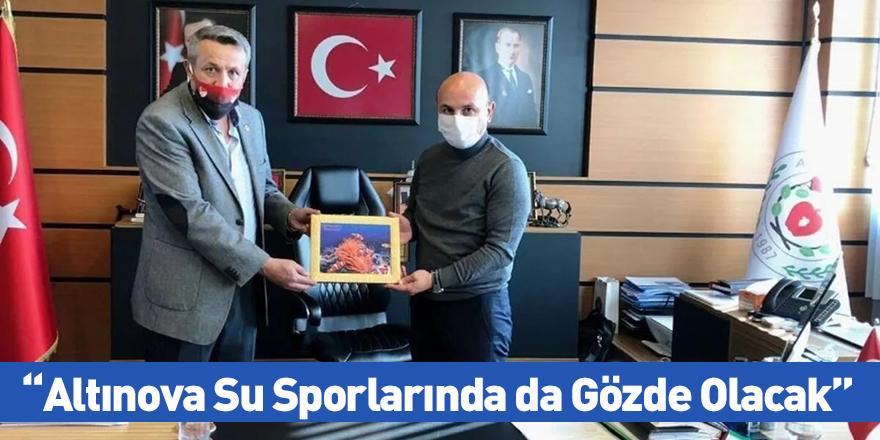 Altınova Su Sporlarında da Gözde Olacak