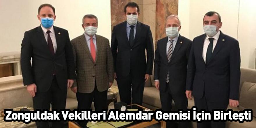 Zonguldak Vekilleri Alemdar Gemisi İçin Birleşti