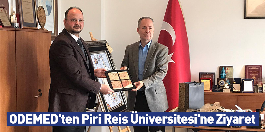 ODEMED'ten Piri Reis Üniversitesi'ne Ziyaret