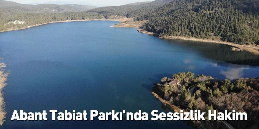 Abant Tabiat Parkı'nda Sessizlik Hakim