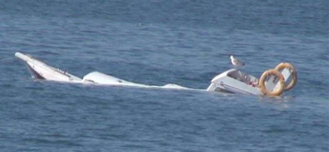 Ayvalık'ta gezi teknesi alabora oldu