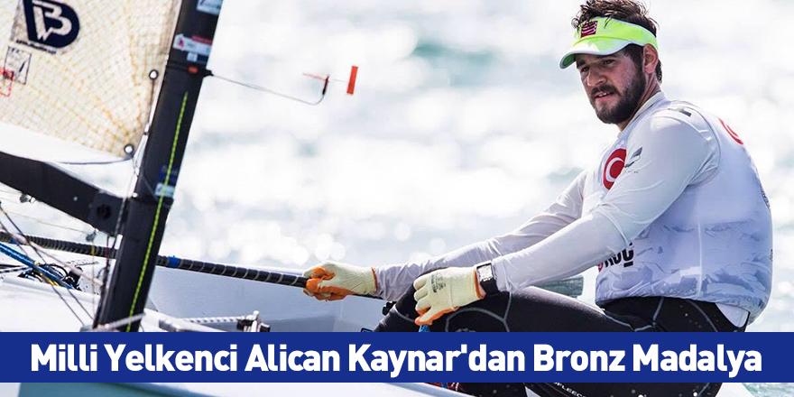 Milli Yelkenci Alican Kaynar'dan Bronz Madalya