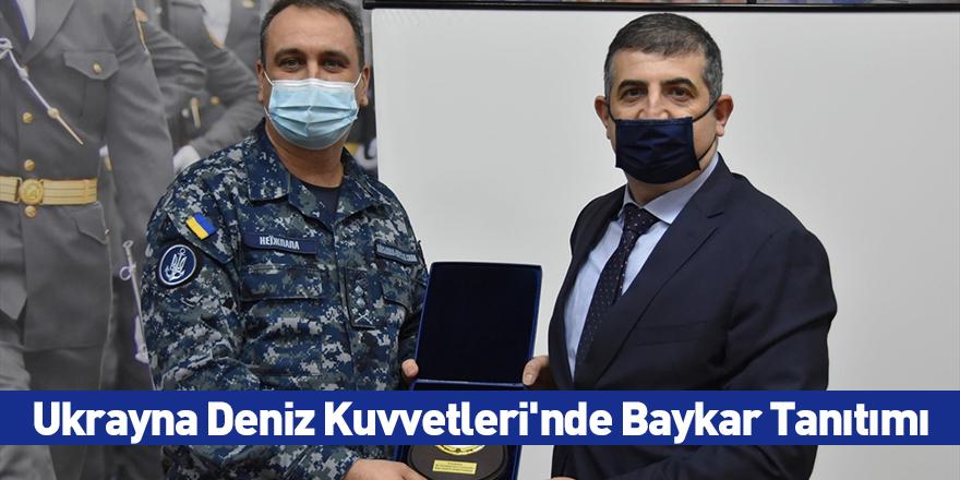 Ukrayna Deniz Kuvvetleri'nde Baykar Tanıtımı