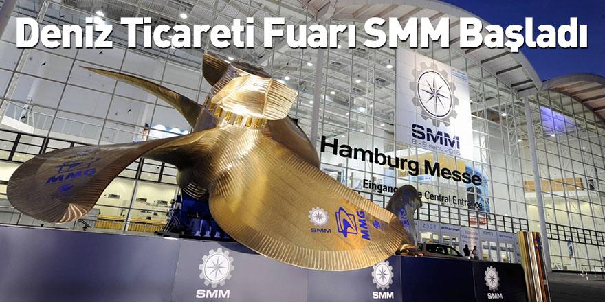 Deniz Ticareti Fuarı SMM Başladı