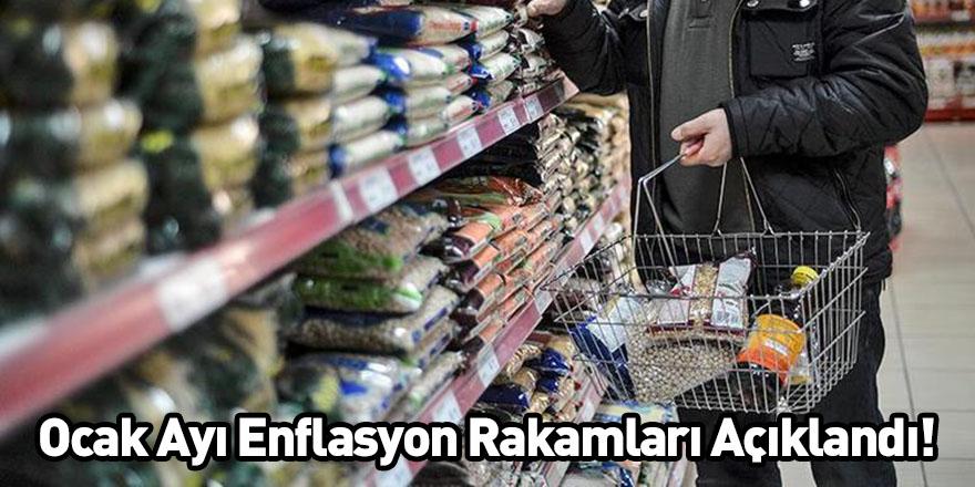 Ocak Ayı Enflasyon Rakamları Açıklandı!