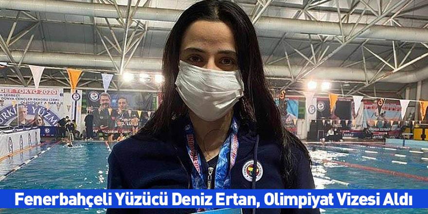 Fenerbahçeli Yüzücü Deniz Ertan, Olimpiyat Vizesi Aldı