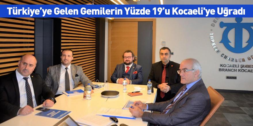 Türkiye'ye Gelen Gemilerin Yüzde 19'u Kocaeli'ye Uğradı