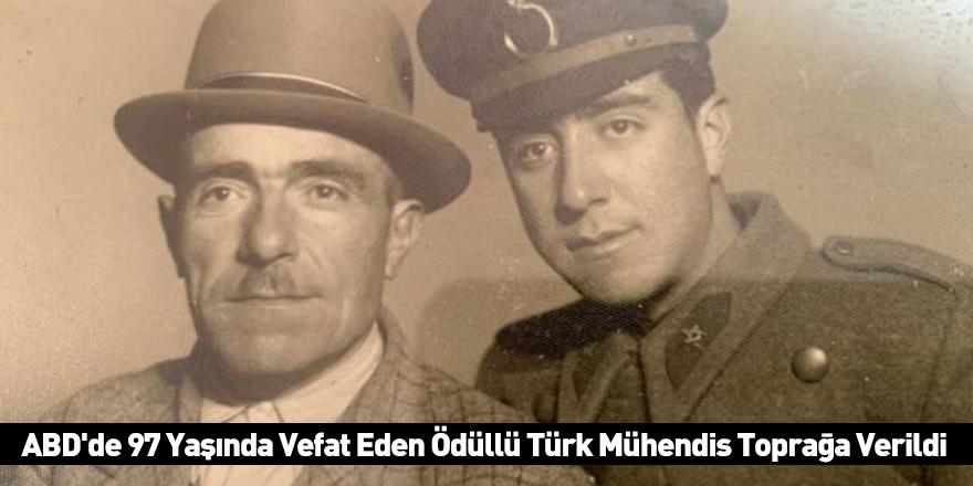 ABD'de 97 Yaşında Vefat Eden Ödüllü Türk Mühendis Toprağa Verildi
