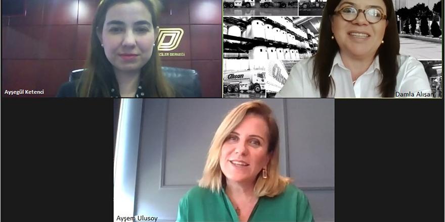 """Genç UND'liler, """"Lojistik'te Kadın Yöneticiler"""" Webinarında Bir Araya Geldi"""