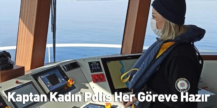 Kaptan Kadın Polis Her Göreve Hazır