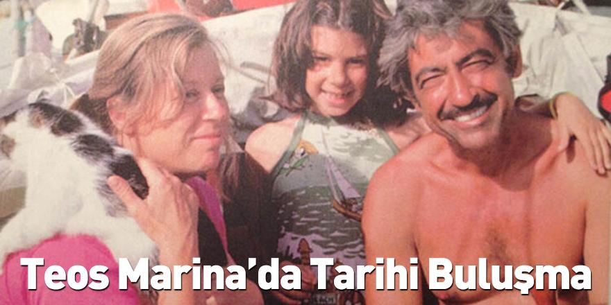 Teos Marina'da Tarihi Buluşma