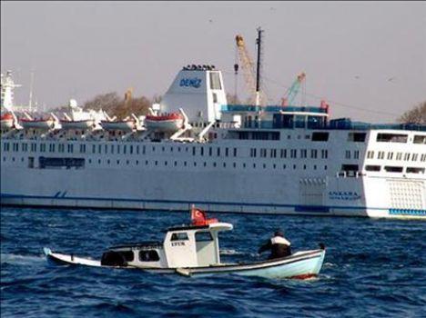 Ankara feribotu Mısır'a yol aldı