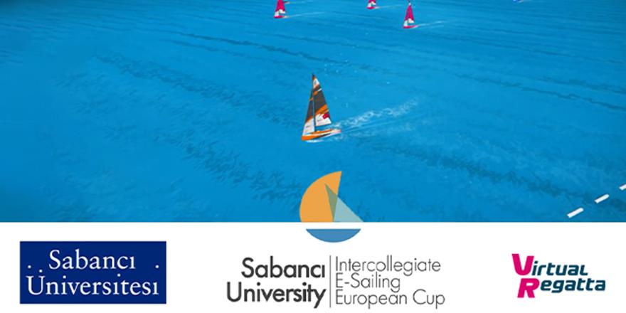 Avrupa'nın İlk Üniversiteler Arası  E-Sailing Şampiyonasına, Sabancı Üniversitesi Yelken ve Denizcilik Kulübü Ev Sahipliği Yapıyor