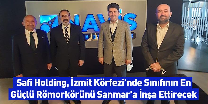 Safi Holding, İzmit Körfezi'nde Sınıfının En Güçlü Römorkörünü Sanmar'a İnşa Ettirecek