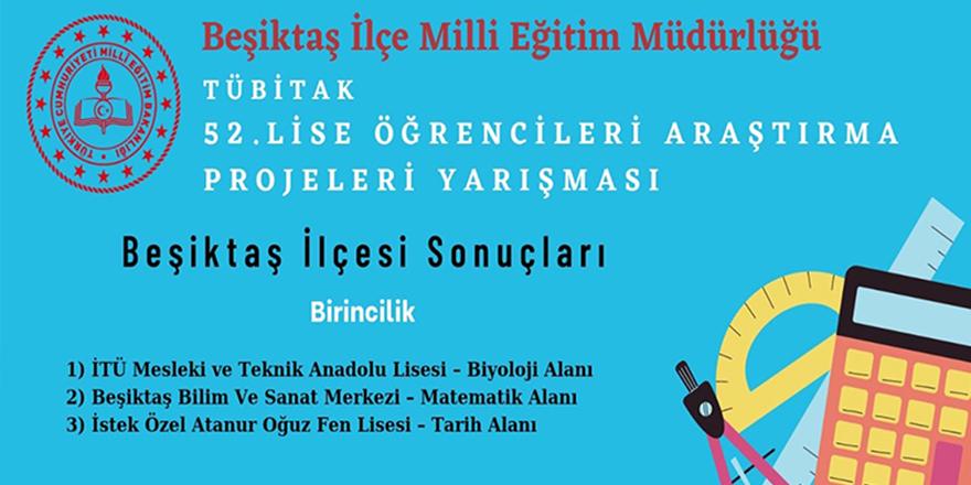 TÜBİTAK Beşiktaş Bölge Birincisi İTÜ MTAL'den!