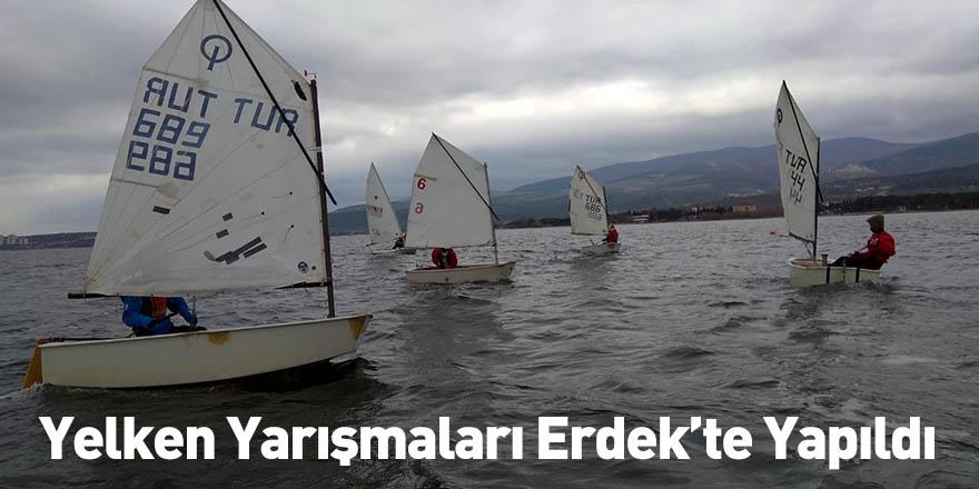 Yelken Yarışmaları Erdek'te Yapıldı