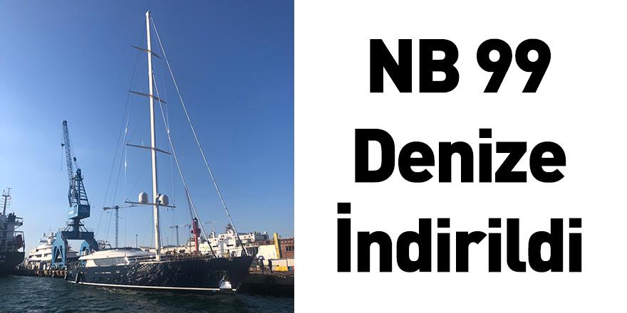 NB 99 Denize İndirildi