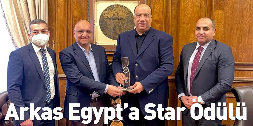 Arkas Egypt'a Star Ödülü
