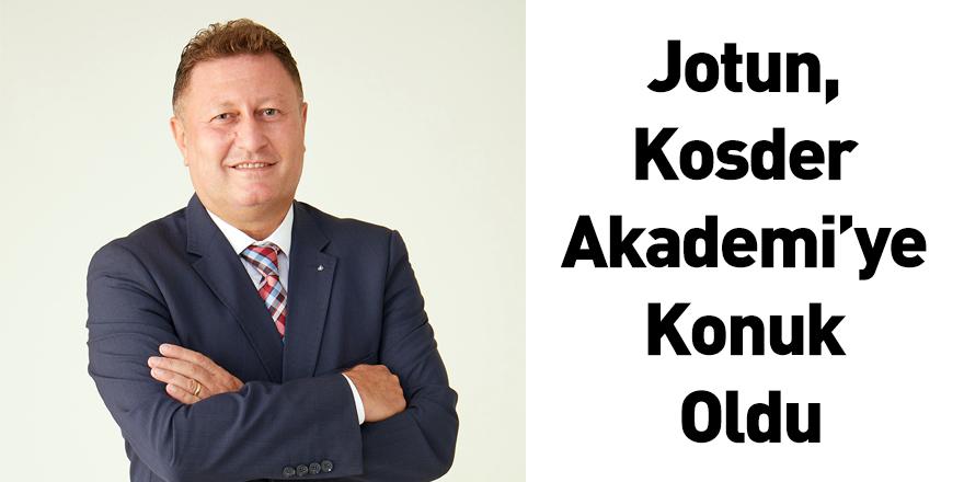 Jotun, Kosder Akademi'ye Konuk Oldu