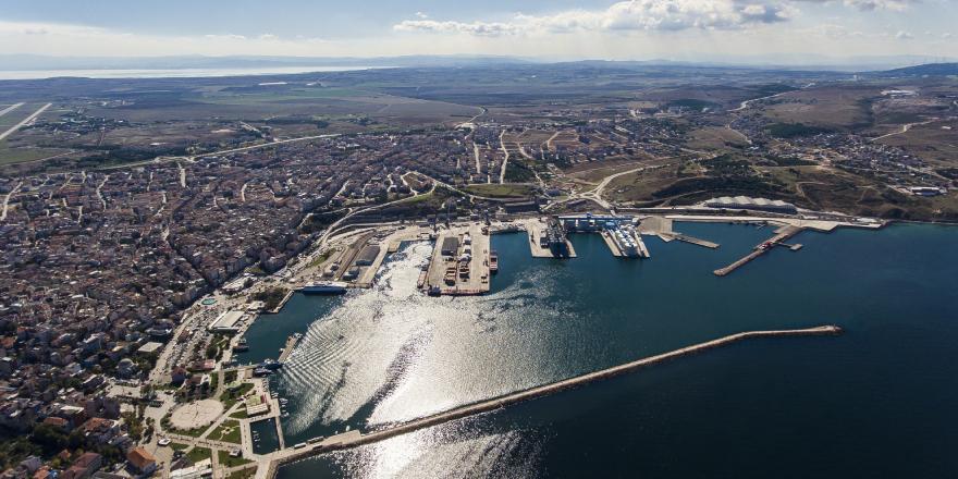 Çelebi Bandırma Limanı'nda İlk Dört Ayda 1.683.774 Ton Yük Elleçlendi