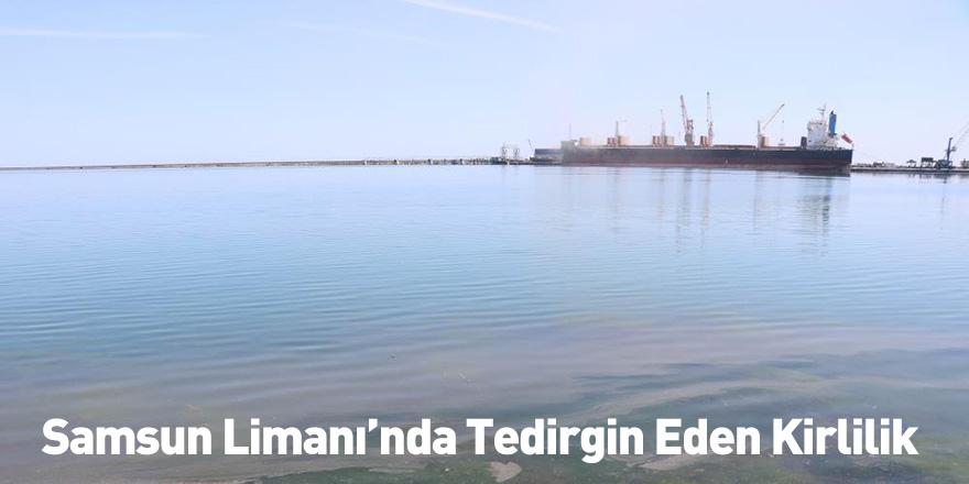 Samsun Limanı'nda Tedirgin Eden Kirlilik
