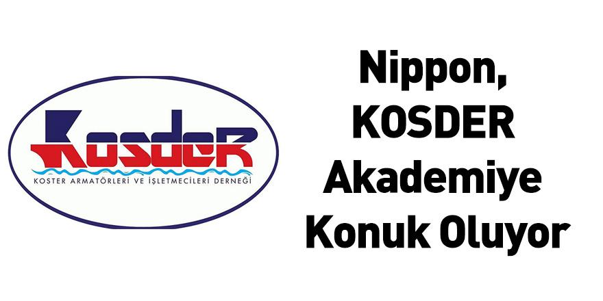 Nippon, KOSDER Akademiye Konuk Oluyor