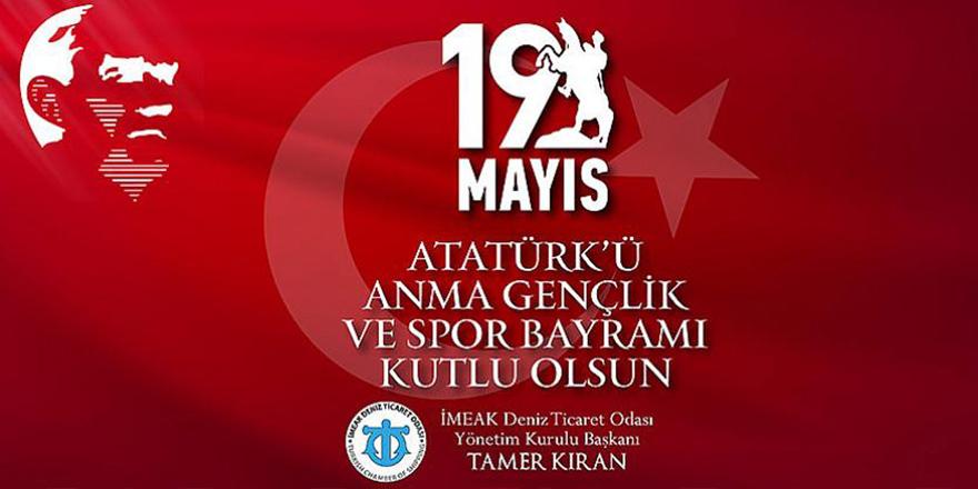 Tamer Kıran'dan 19 Mayıs Mesajı