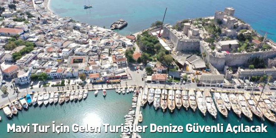 Mavi Tur İçin Gelen Turistler Denize Güvenli Açılacak