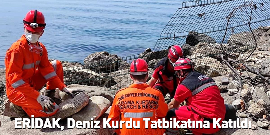 ERİDAK, Deniz Kurdu Tatbikatına Katıldı