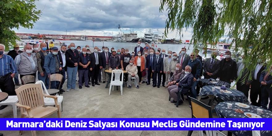 Marmara'daki Deniz Salyası Konusu Meclis Gündemine Taşınıyor