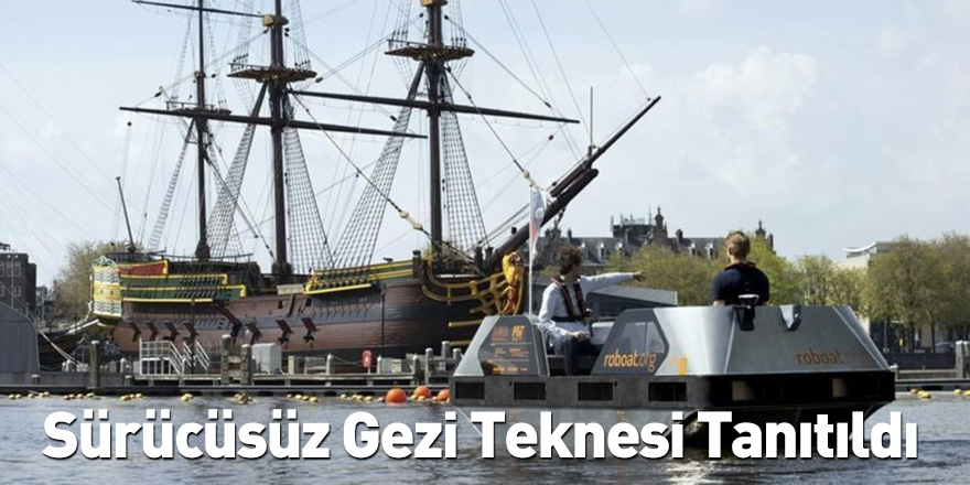 Sürücüsüz Gezi Teknesi Tanıtıldı