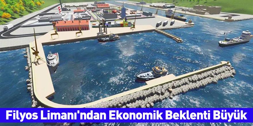Filyos Limanı'ndan Ekonomik Beklenti Büyük