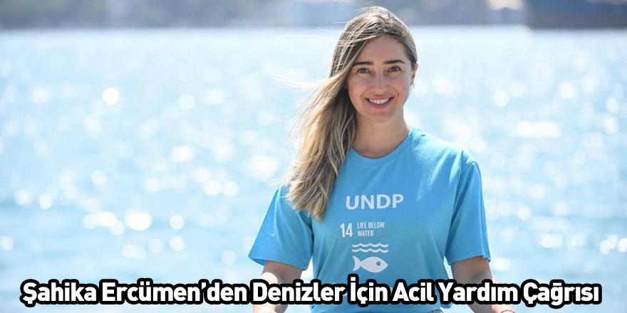 Şahika Ercümen'den Denizler İçin Acil Yardım Çağrısı