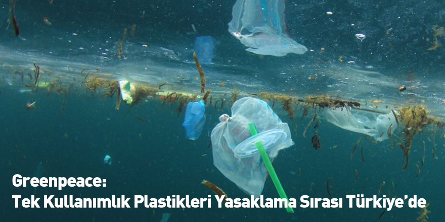 Greenpeace: Tek Kullanımlık Plastikleri Yasaklama Sırası Türkiye'de