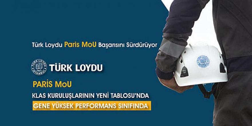 Türk Loydu, Paris MoU başarısını sürdürüyor