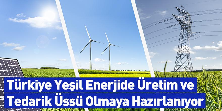 Türkiye Yeşil Enerjide Üretim ve Tedarik Üssü Olmaya Hazırlanıyor