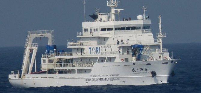 """Araştırma gemisi """"Ocean Researcher V"""" Tayvan'da battı"""